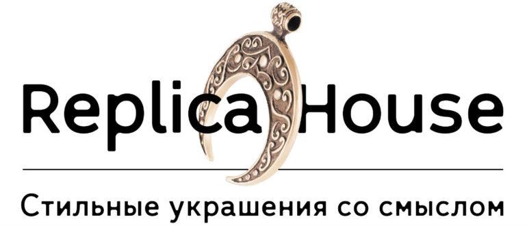 Логотип компании Replica House