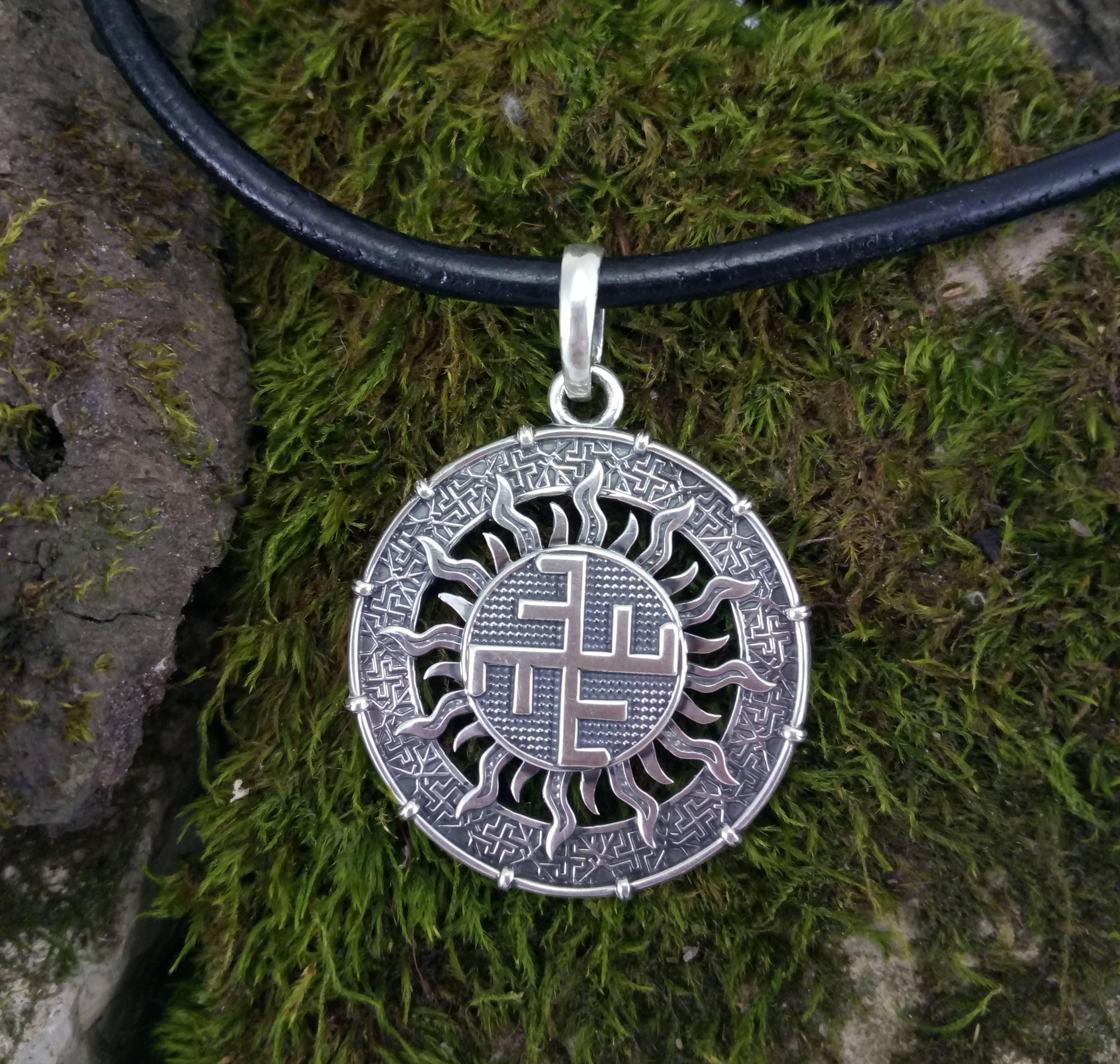 Фото Небесного креста из серебра