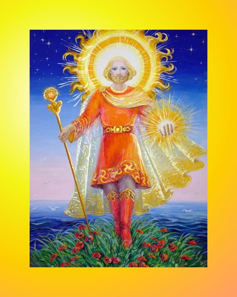 Даждьбог - бог света