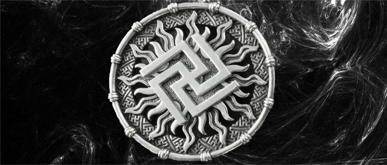 Фотография символа рысич на черном фоне