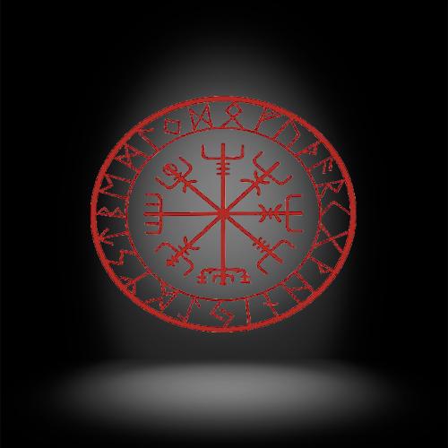 Фото символа вегвизир