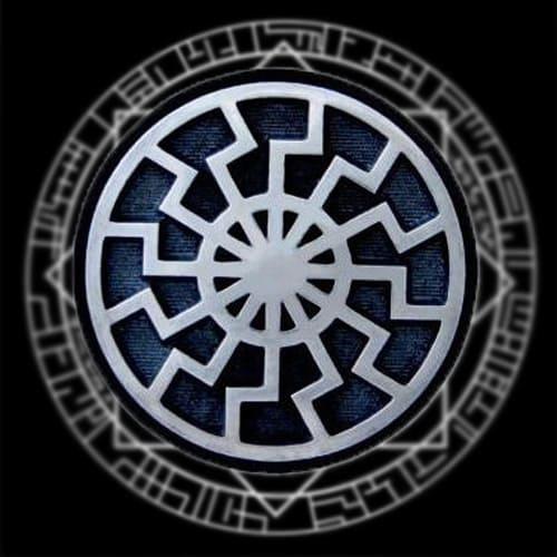Фотография символа черное солнце