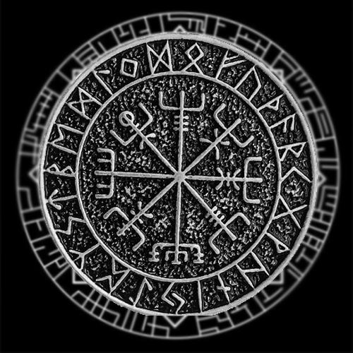 Фотография символа вегвизир