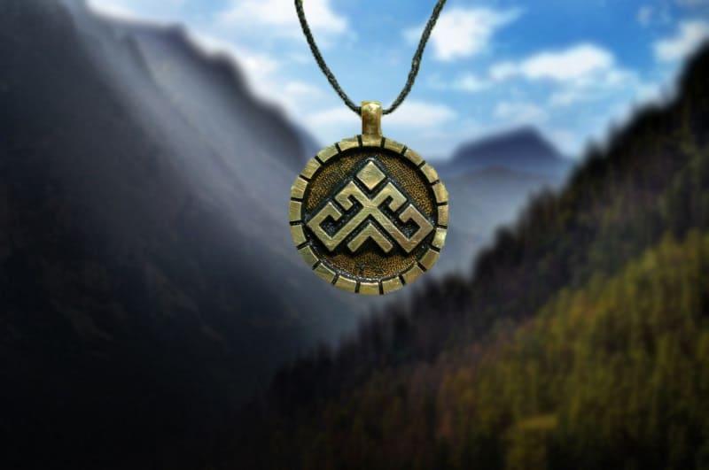 Фотография символа рожаница