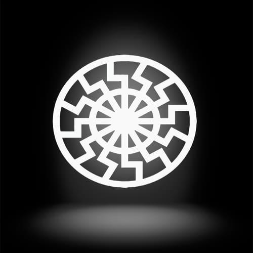Фотография черное солнце