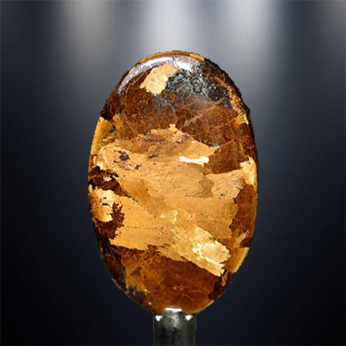 фото камня бронзит