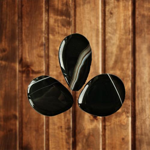 фото камня черного агата