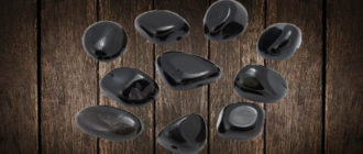 Магический камень черный агат