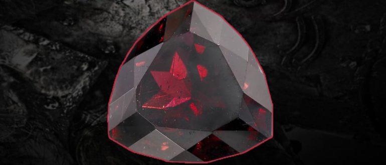 камень гранат