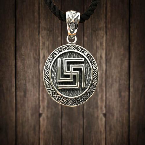 Фотография символа рубежник