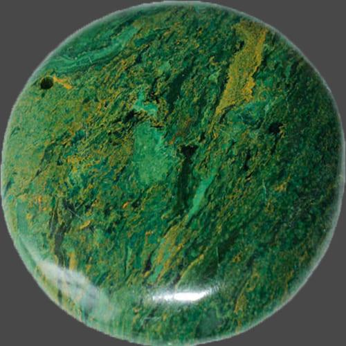 Фото амулета зеленая яшма